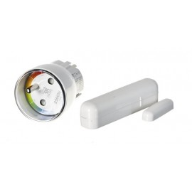 FIBARO Starter Kit PL (Home Center Lite, Flood Sensor, Smoke Sensor, Motion Sensor, Door/ Window Sensor, Wall Plug )