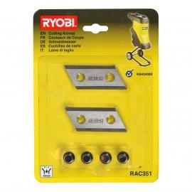 Noże tnące do łuparki RYOBI RAC351 2szt