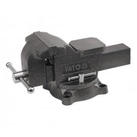 Imadło ślusarskie obrotowe 125 mm typ ciężki YATO