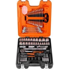 """Zestaw narzędzi 1/4-1/2"""" 94szt walizka BAHCO"""