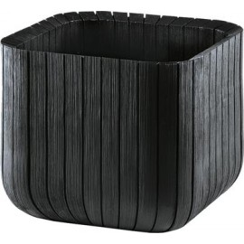 Donica Curver Keter CUBE PLANTER L antracyt