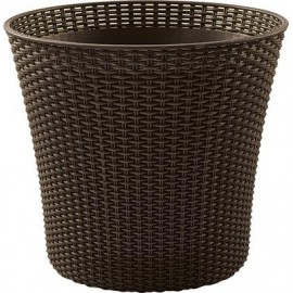 Donica Curver Keter CONIC PLANTER 56,5L brązowy