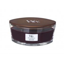 Świeca WoodWick Hearthwick Flame - Black Cherry